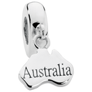 Sterling Silver Australia Charm