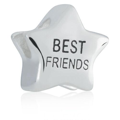 Sterling Silver 'Best Friends' Charm