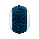 Dark Blue Crystal Charm