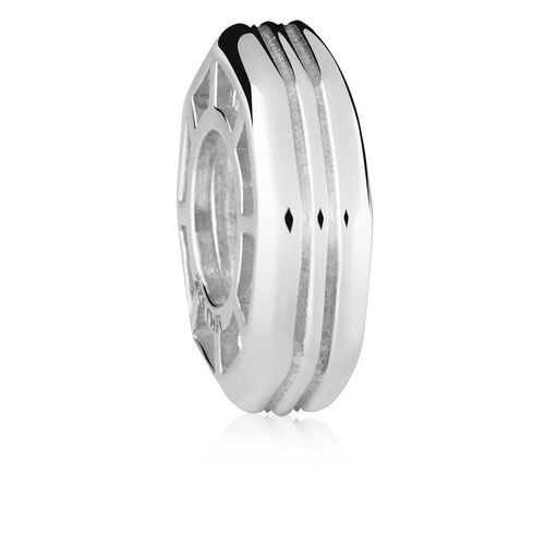Octagonal Sterling Silver Spacer