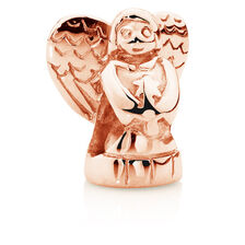 10ct Rose Gold Angel Charm