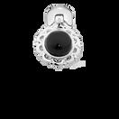 Onyx & Sterling Silver Filigree Stopper