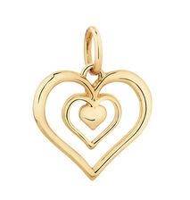 10ct Yellow Gold Heart Mini Pendant