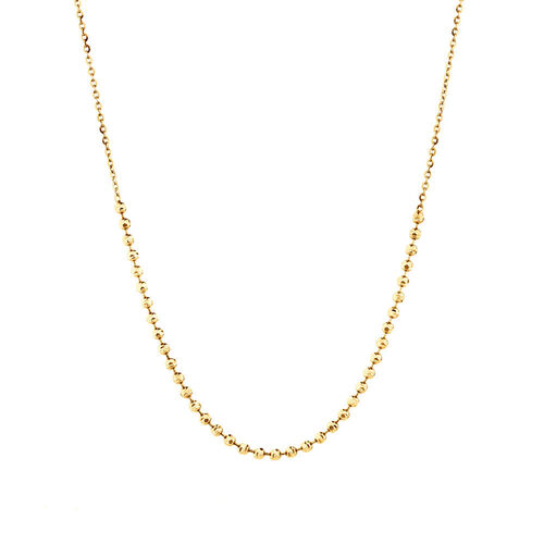 "30cm (12"") Ball Choker in 10ct Yellow Gold"