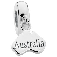 Sterling Silver Australia Charm