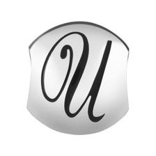 Sterling Silver 'U' Charm