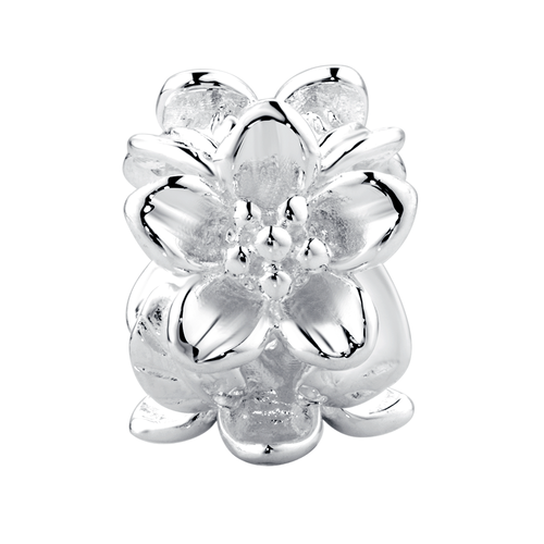 Sterling Silver Flower Charm