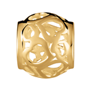 10ct Yellow Gold Heart Charm