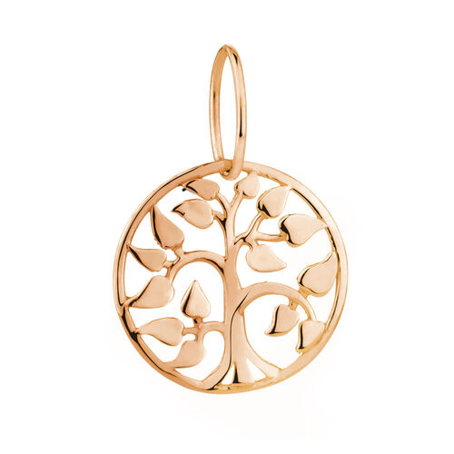 Tree of Life Mini Pendant in 10ct Rose Gold