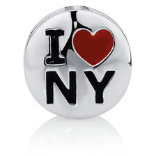 Sterling Silver 'I Love Ny' Charm