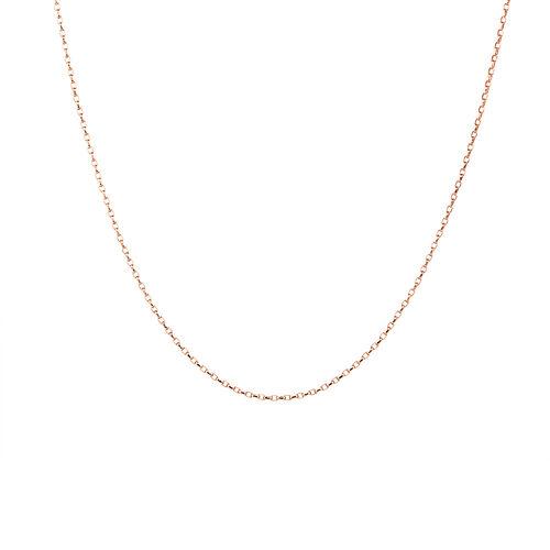 "45cm (18"") Belcher Chain in 10ct Rose Gold"